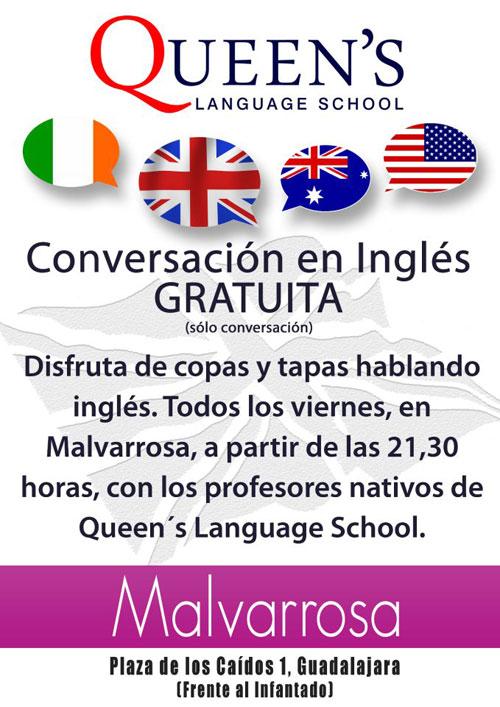 Noche de conversación en inglés
